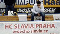 Zklamaný kouč Slavie Vladimír Růžička