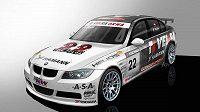 Studie vozu BMW 320si, s nímž Petr Fulín pojede šampionát ETCC.
