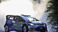 Finský pilot Jari-Matti Latvala během Švédské rallye