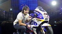 Karel Abraham s motocyklem Ducati Desmosedici GP12