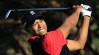 Američan Tiger Woods.