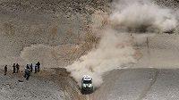 Mini Stephana Peterhansela na trati Rallye Dakar