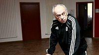 Trenér Českých Budějovic František Cipro