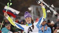 Slovinská lyžařka Tina Mazeová