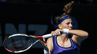 Petra Kvitová ztrácí na první tenistku světa Viktorii Azarenkovou víc než 2000 bodů.