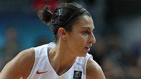 Španělská basketbalistka Alba Torrensová.