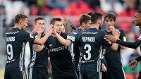 Trenér Gončarenko přivezl do Plzně skutečně velmi mladé mužstvo.