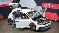 Volkswagen Polo R5 týmu Raimunda Baumschlagera, za jehož volantem bude při Pražském rallyesprintu 1. prosince Vojtěch Štajf.
