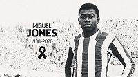 Zemřel legendární fotbalista Atlétika Madrid Miguel Jones.