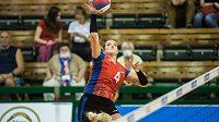 Volejbalistka Aneta Havlíčková se vrátila z ciziny do české nejvyšší soutěže. Co říká na úroveň tuzemské ligy a co by hráčkám doporučila?