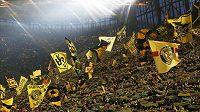 Atmosféra na domácích zápasech Borussie Dortmund je elektrizující.