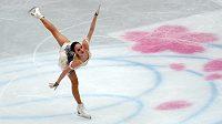 Ruska Alina Zagitovová při krátkém programu na MS