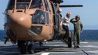 Helikoptéra, ilustrační snímek.