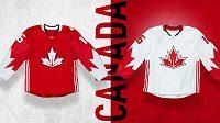 Dres Kanady pro Světový pohár v hokeji.