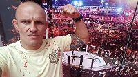 Jaroslav Číňan Poborský v sobotu pozná stý zápas v MMA, stane se na akci GCF 44 v Sokolově.