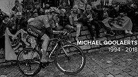 Michael Goolaerts zemřel v pouhých 23 letech.