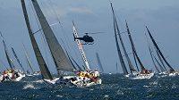 Závod Sydney - Hobart vyhrála poosmé jachta Wild Oats XI.