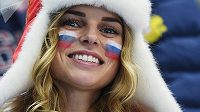 Ruská fanynka.