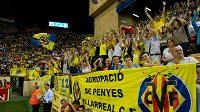 Fanoušci Villarrealu - ilustrační foto.