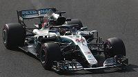 Brit Lewis Hamilton s Mercedesem zajel v prvním tréninku na Velkou cenu Mexika F1 pátý nejrychlejší čas.