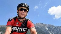 Cyklista Philippe Gilbert.