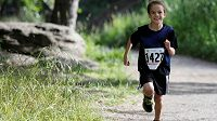 Daniel Skandera v sedmi letech ukázal, že nadání pro běhání má.