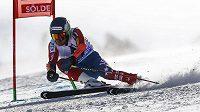 Američan Ted Ligety vyhrál obří slalom v rakouském Söldenu.