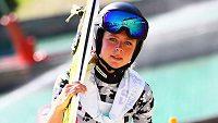 Skokanka na lyžích Maren Lundbyová.