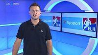 Jiří Tlustý coby hokejový expert O2 TV.