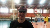 Trenér volejbalistek Liberce Josef Smolka mladší.