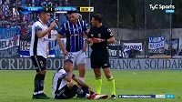 Fotbalisté argentinských klubů Almagro a Central Cordoba (ilustrační foto)