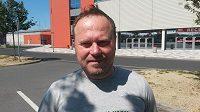 Nový trenér hokejových Karlových Varů Martin Pešout.