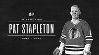 Zemřel bývalý kanadský hokejový reprezentant Pat Stapleton, účastník Série století v roce 1972.