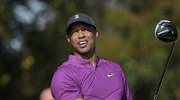 Tiger Woods na snímku z Orlanda v prosinci 2020.