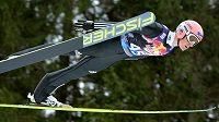 Německý skokan na lyžích Severin Freund, suverénní vítěz závodu Světového poháru v letech v Kulmu.