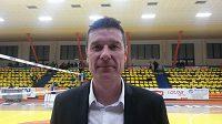 Trenér volejbalistů Dukly Liberec Michal Nekola