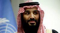 Saúdskoarabský korunní princ Mohamed bin Salmán je předsedou investiční skupiny PIF.