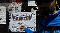 Zlatý Maraton, já si dal ultramaratón, to byl teprve nářez.