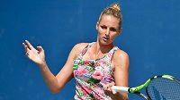 Kristýna Plíšková zaznamenala úspěšný vstup do turnaje v Luganu.