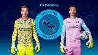 Fotbalový Wycombe vytáhne v nové sezóně na soupeře překvapení v podobě brankářských dresů. Ty jsou barevně vyvedené tak, že by měly rozhodit zakončující hráče.
