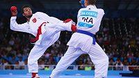 Karate si odbude premiéru na olympijských hrách. Ilustrační foto.