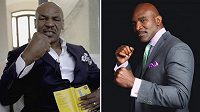 Mike Tyson a Evander Holyfield