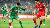 Klub Peking Žen-che měl v utkání čínského FA Cupu na hřišti v jednu chvíli hned tři své gólmany.