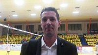Volejbalový trenér Jiří Novák