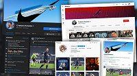 Sociální sítě Cristiana Ronalda sledují stovky milionů fanoušků.