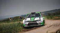Jan Kopecký se Škodou Fabia R5 bude o víkendu usilovat o triumf při Bohemia Rallye.