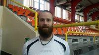 Volejbalový reprezentant Aleš Holubec bude hrát českou nejvyšší soutěž.