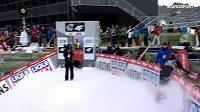 Sabiržan Muminov při tréninku Turné čtyř můstků v Innsbrucku kuriózně havaroval.