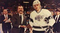 Za Kings stihl Petr Prajsler v NHL odehrát 43 zápasů.
