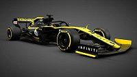 Nový monopost Renaultu.